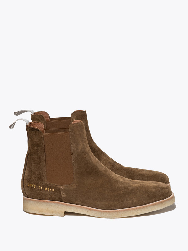 Men's Common Projects Chelsea Boot In Suede
