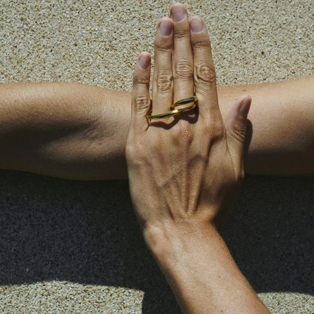 Charlotte Chesnais Heart Ring - 18k Yellow Gold Vermeil
