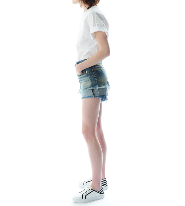 R13 Double Layer Shorts