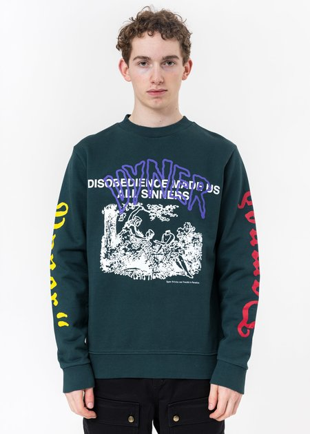 Vyner Articles Multi Print Basic Sweater