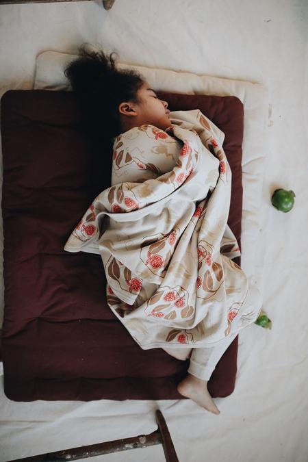 KIDS Granelito Frog Blanket - Beige