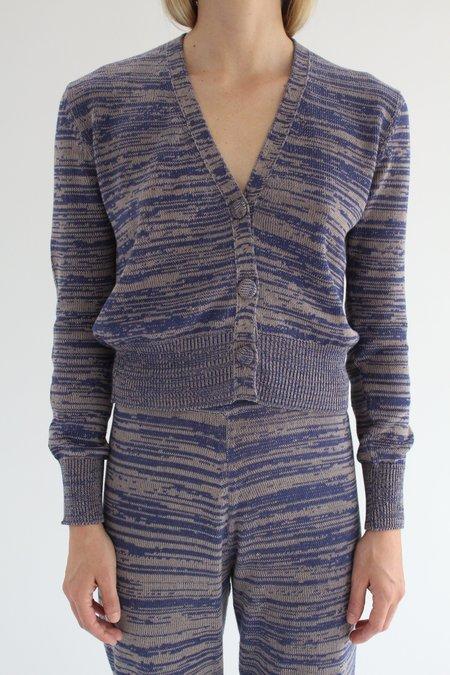 Beklina Cotton Knit Cardigan - Cobalt