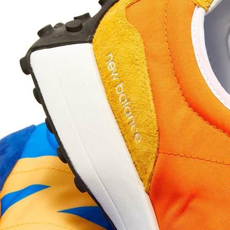 New Balance 327 Split Colour LAA sneakers - Blue/Orange/Black