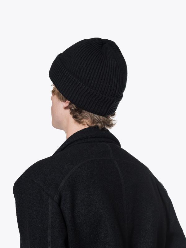 Men's Saturdays H01 1X1 Rib Knit Beanie