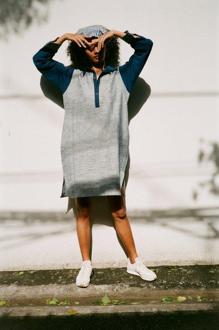 Seeker x Retriever Leisure Tunic - Indigo/ Light Indigo Wash