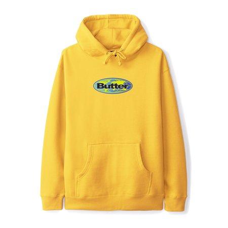Butter Goods Global Logo Pullover - Gold