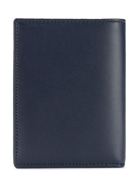UNISEX COMME DES GARCONS classic bifold cardholder wallet - Navy