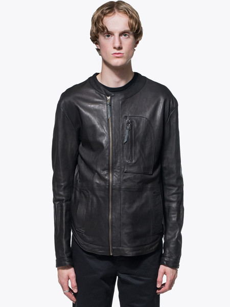 Men's Robert Geller Leather Jacket