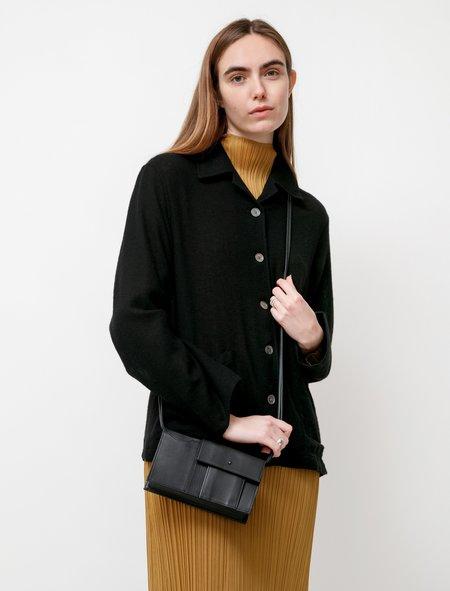Y's by Yohji Yamamoto Flap Pochette bag -  Black