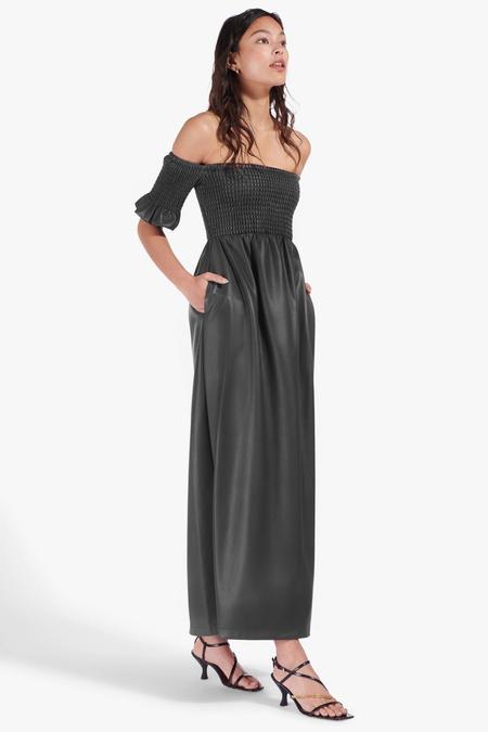 Staud Mae Dress - Black