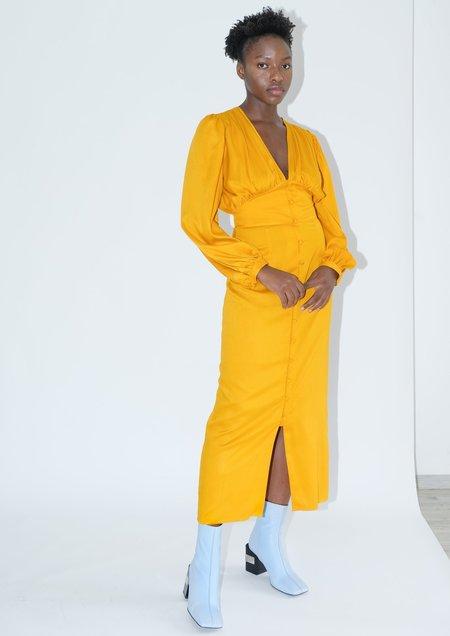 OhSevenDays Lola Dress - Mustard