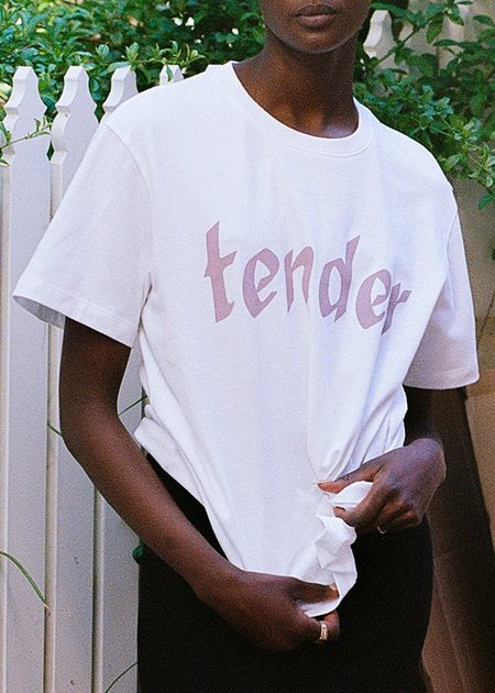 permanent vacation Tender Tee - Mauve