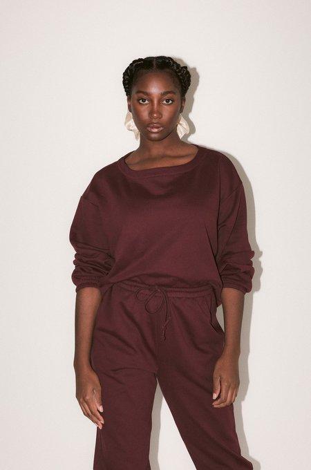 Soft Focus The Big Sweatshirt - Pinot