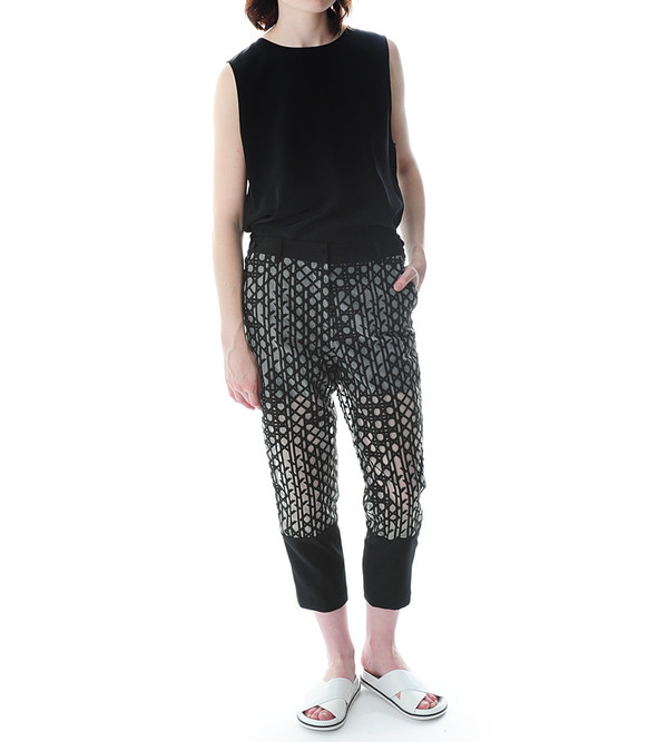 3.1 Phillip Lim Embroidered Organza Pant