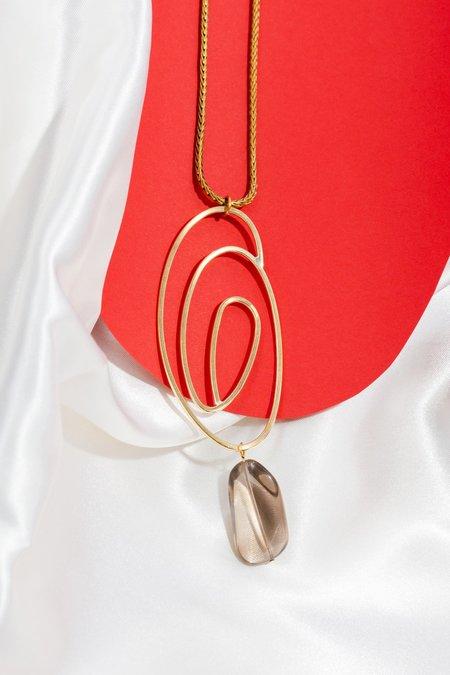 Laura Estrada Jewellery Swirl Necklace
