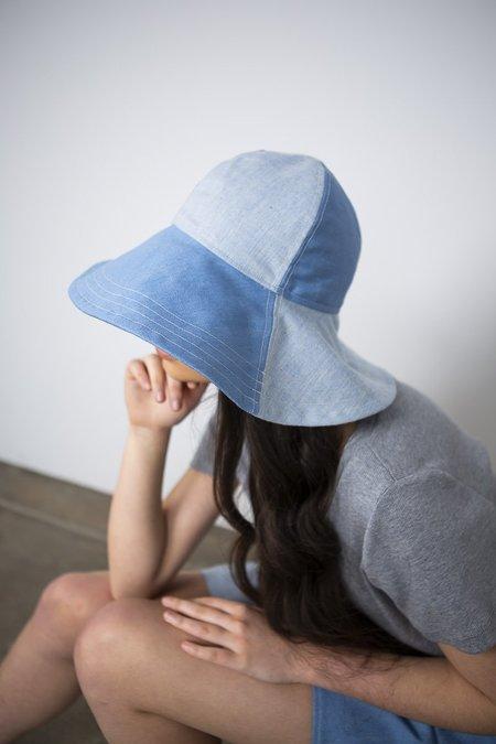 Lois Hazel Summer hat - Denim