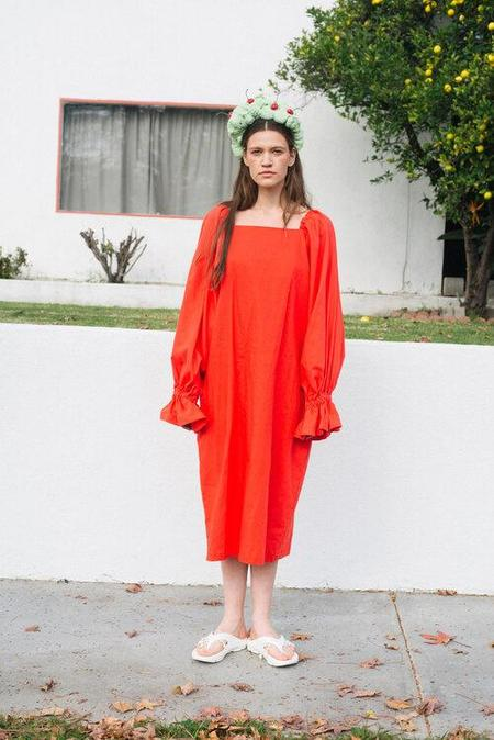 3234u Selena Dress - Cherry Red