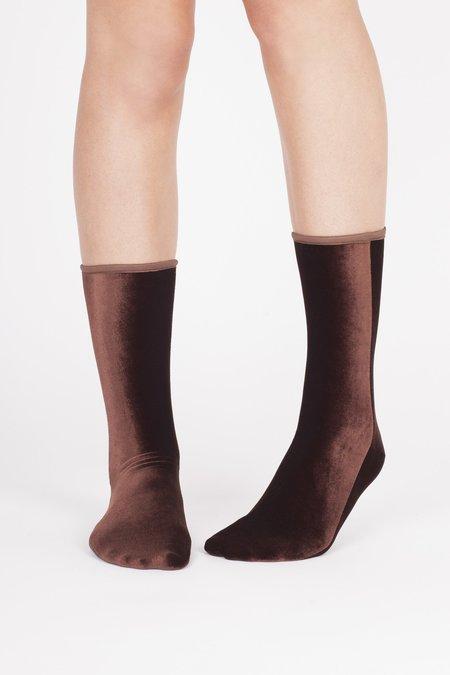 Simone Wild Nutmeg Socks - Velvet