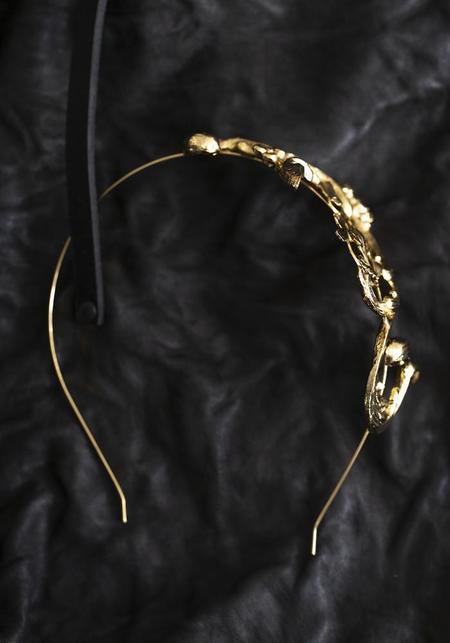 Miss Ellie Floral Scrollwork Headband