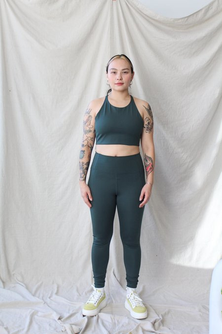 Girlfriend Collective Compression Legging - Moss