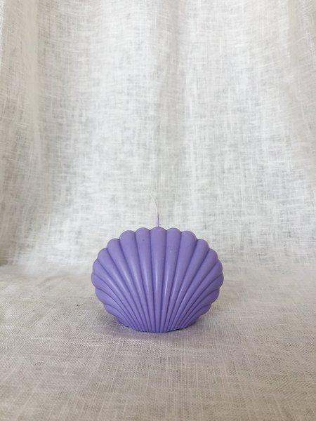 Ri-Ri-Ku Shell Candle - Lilac