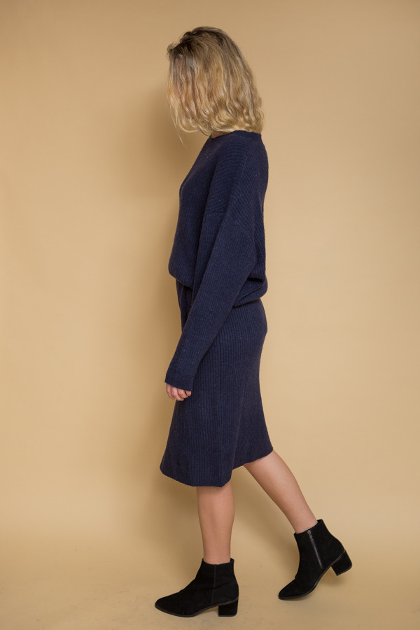 Just Female Corn Skirt - Blue Stone