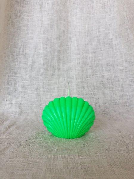 Ri-Ri-Ku Shell Candle - Mint