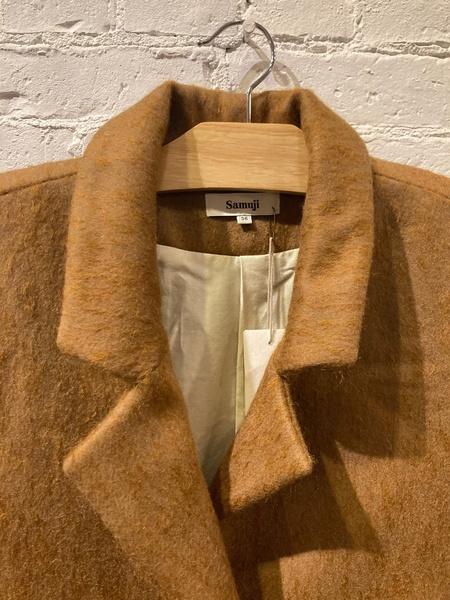 Samuji Wool Finney Coat - Caramel