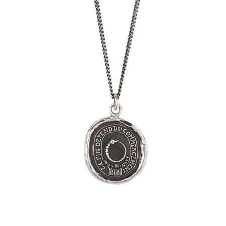 Pyrrha Knowledge Talisman - Silver
