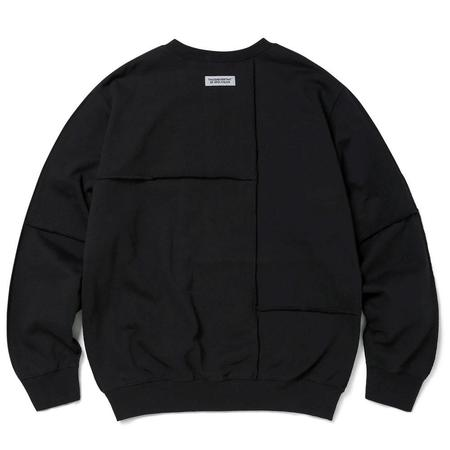 ThisIsNeverThat CP-Paneled Crewneck Necklace - Black