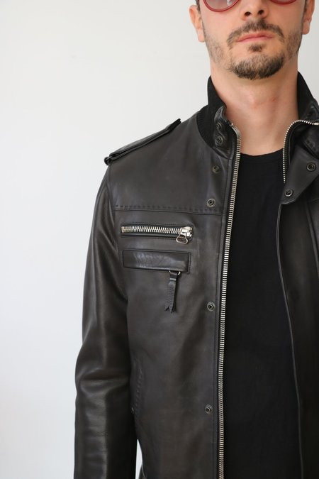 [Pre-loved] Lanvin Leather Jacket