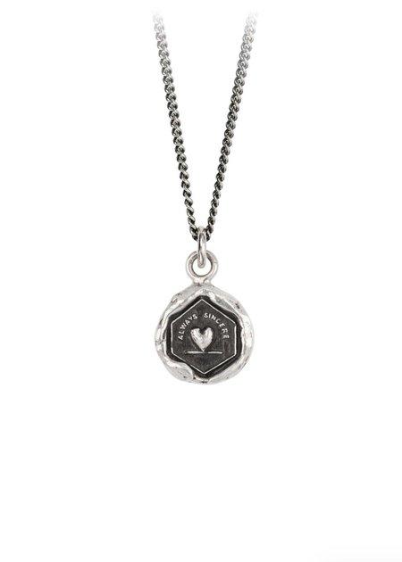 Pyrrha Always Sincere Talisman necklace - Sterling Silver
