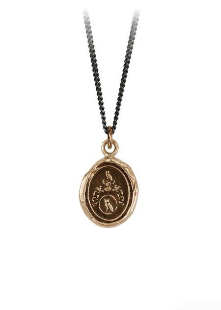 Pyrrha Lean On Me Talisman necklace