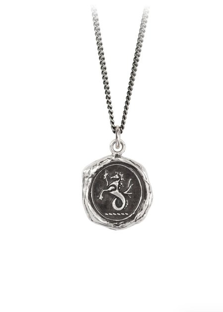 Pyrrha Seahorse Talisman necklace - Sterling Silver