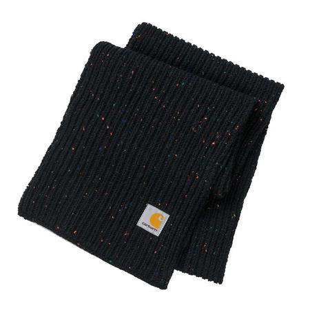 CARHARTT WIP Anglistic Plain Scarf - Black Heather