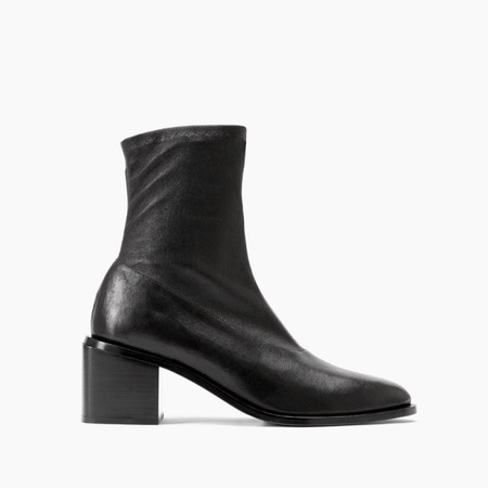 Robert Clergerie Xia stretch booties - black