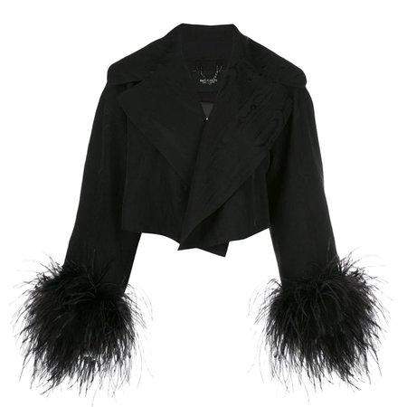 Rachel Comey Spiff Jacket in Moire Jacquard - Black