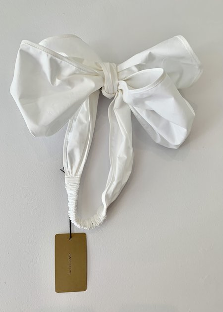 Rachel Comey Bow Headband - White