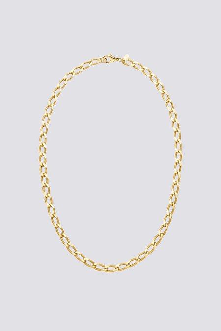 Nina Kastens Vintage Curb Necklace - Gold