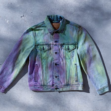 Phoenix General x DEVI DASI Upcycled Series Levi's Denim Jacket