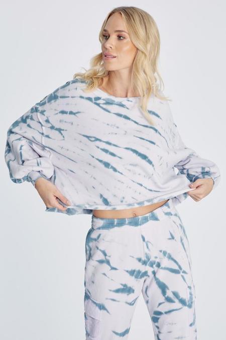 Wildfox Couture Olivia Sweatshirt - Muse Spiral Dye