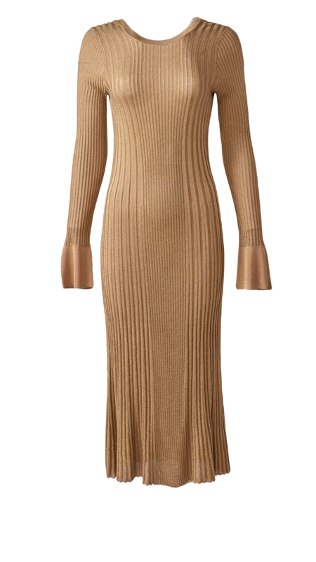 By Malene Birger Ophelias Dress - Gold
