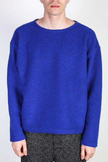 Sunnysiders Sliver Knit Long Sleeve - Electric Blue