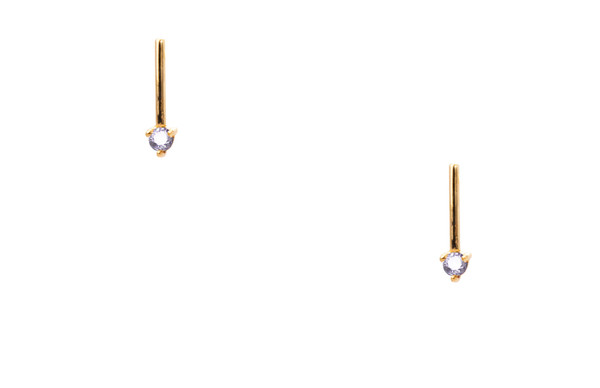 WWAKE One Step Opal Earring