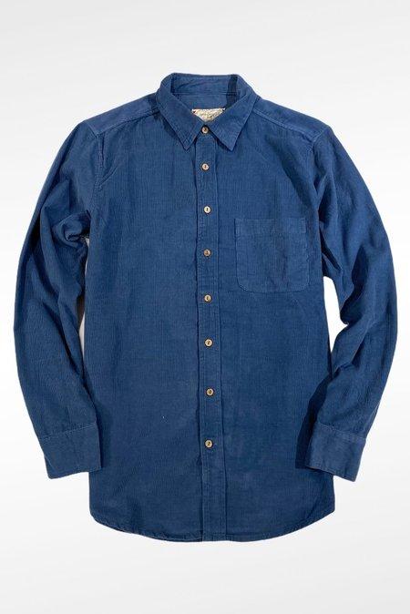 One World Brothers Corduroy Long Sleeve Pocket Shirt