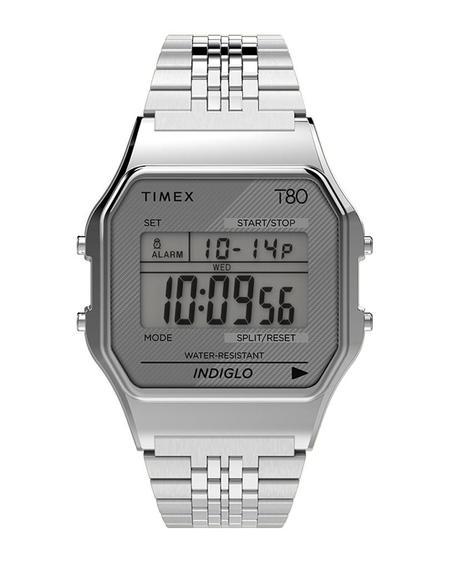 Timex Reloj Timex T80 34mm Watch - Silverstone