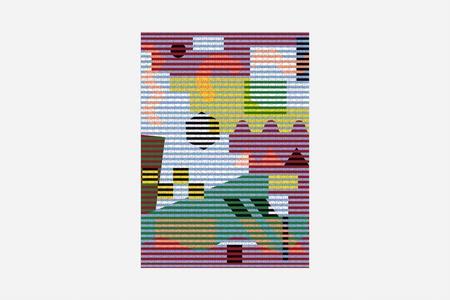 KIDS Areaware Pattern 1000 Piece Puzzle