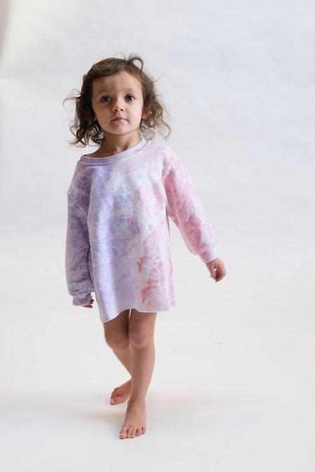 Kids Rachel Comey Fond Sweatshirt - Lilac Marble