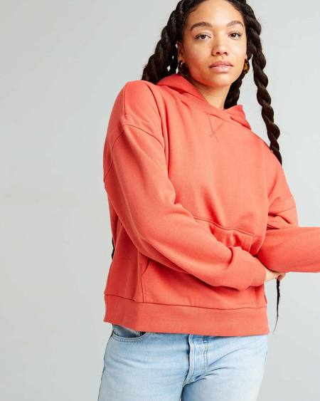 Richer Poorer Recycled Fleece Hoodie - Chili Flake