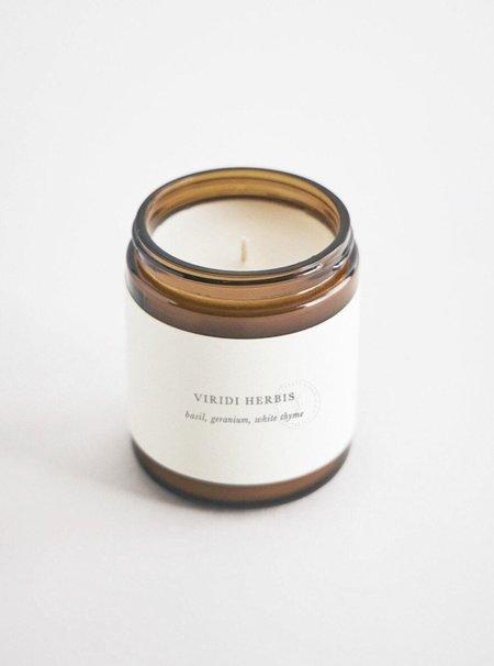 Barratt Riley & Co Viridi Herbis Botanical Candle